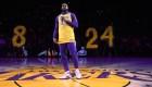 Escucha el emotivo homenaje de LeBron James a Kobe Bryant