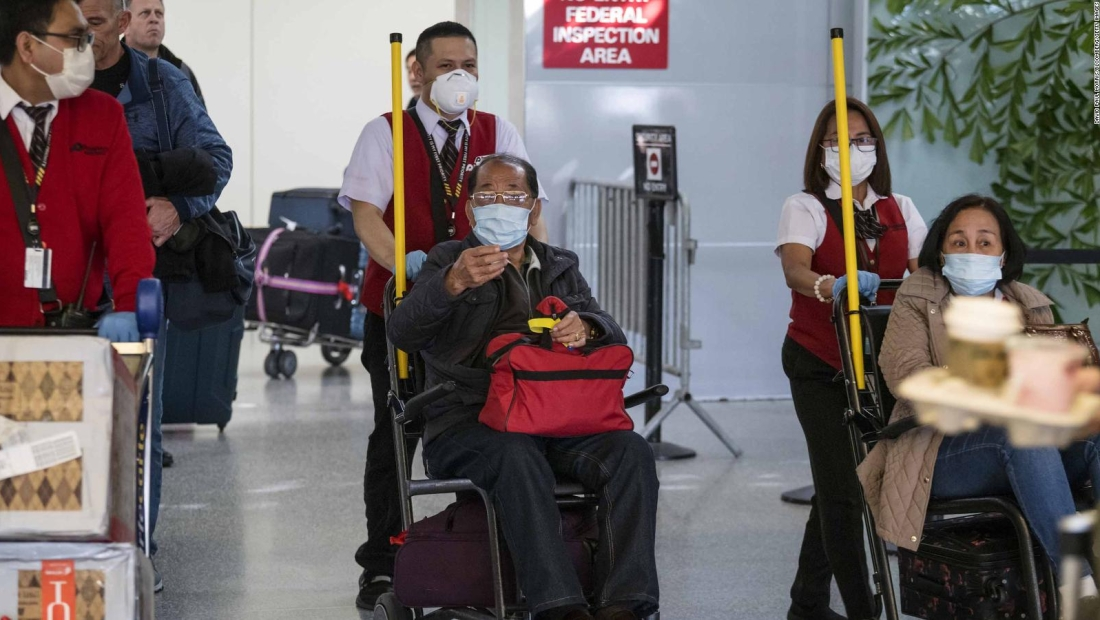 China critica EE.UU. por medidas para contener el coronavirus