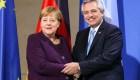 Merkel dice que hay que pensar cómo ayudar a Argentina