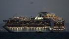 Un crucero está en cuarentena en la costa de Japón