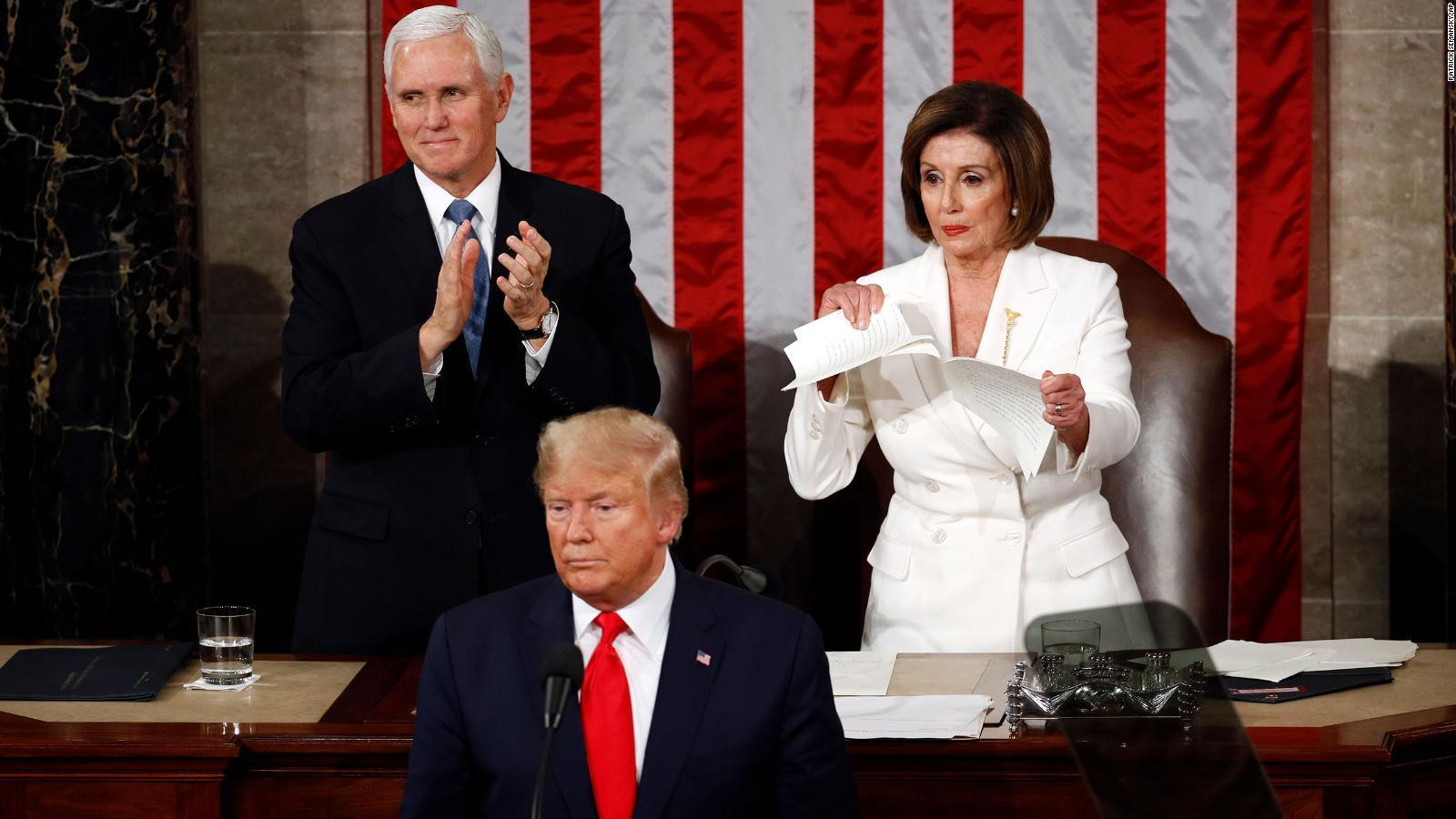 Reacciones al discurso de estado de la Unión de Trump
