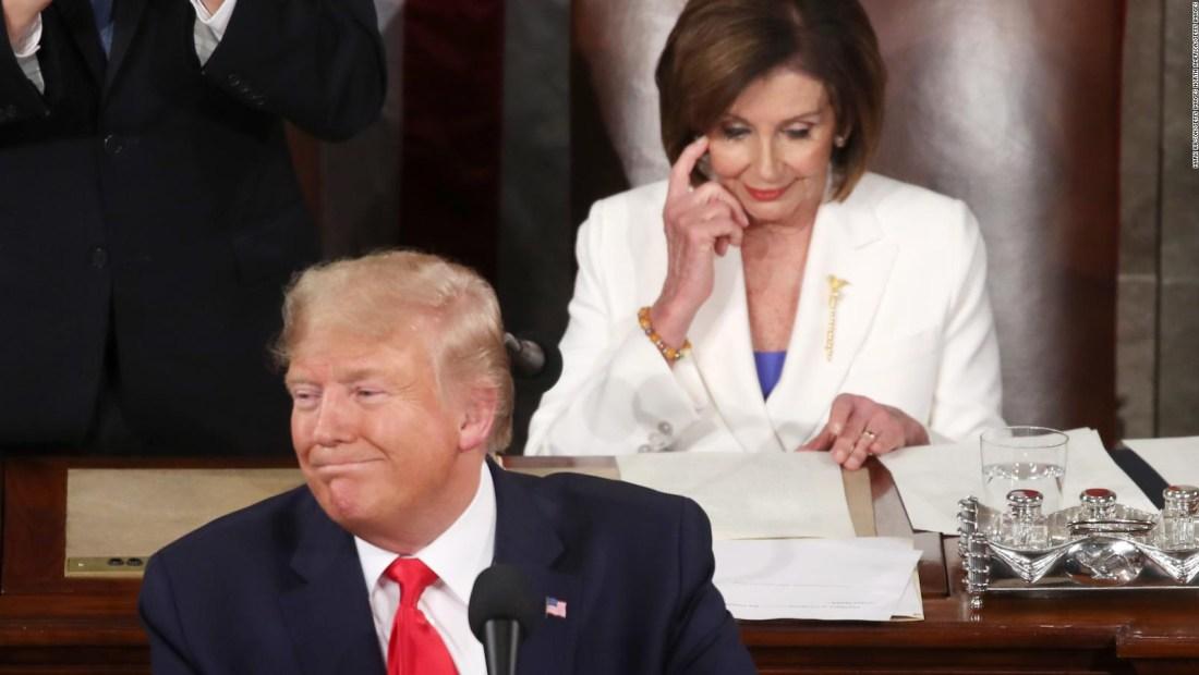 Pelosi-Trump: cruces en discurso del Estado de la Unión