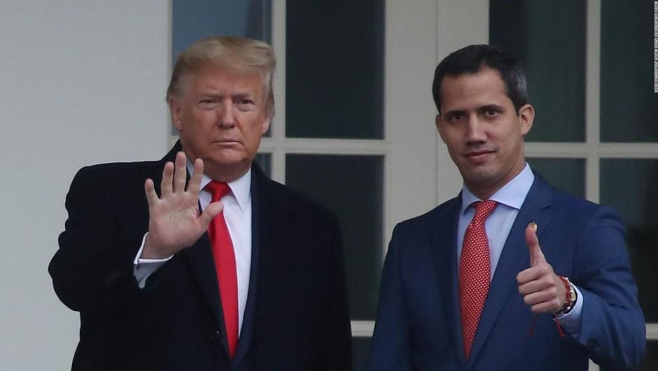 Reunión de Trump y Guaidó en la Casa Blanca fue histórica