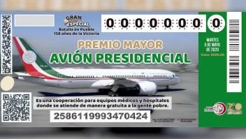 Avión presidencial mexicano: ¿Hay urgencia para venderlo?