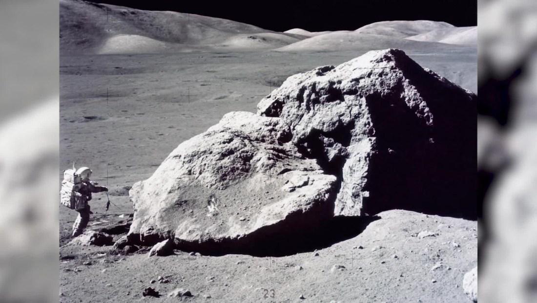 Millones de años de historia en un grano de polvo lunar