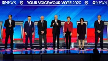 ¿Cómo están en las encuestas los aspirantes presidenciales demócratas?