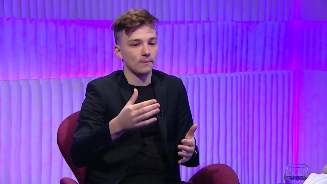 """Mateo Salvatto: """"La sordera es la discapacidad que no se ve"""""""