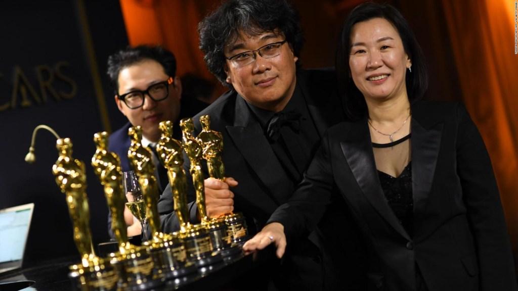 """""""Parasite"""" hace historia en los Oscar"""
