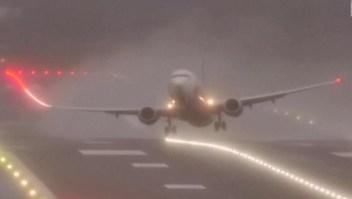 Tormenta crea caos para los viajes en avión en Europa