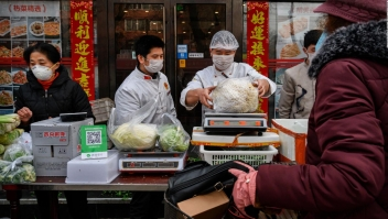 Por coronavirus, inflación de China es la mayor en 8 años