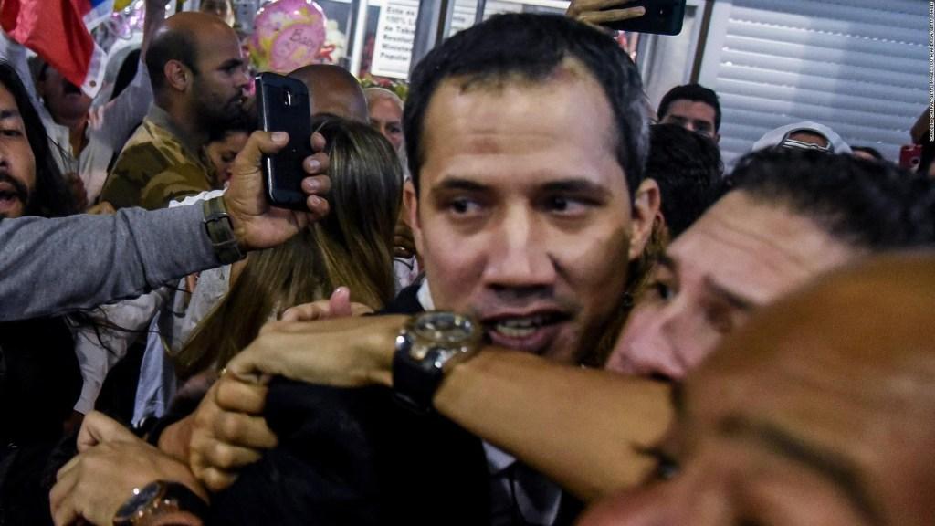 Juan Guaidó regresa a Venezuela