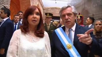 """""""Presos políticos"""", discordia entre Alberto y Cristina"""