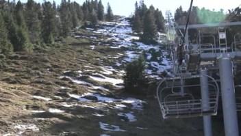 Temporada de esquí en los Pirineos con poca nieve