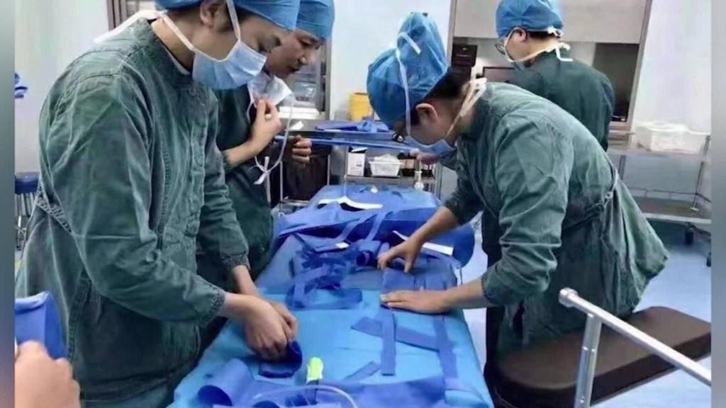 China publica cantidad de médicos afectados
