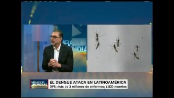 ¿Cuáles son los síntomas del dengue?
