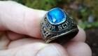 Un anillo perdido hace 47 años apareció en Finlandia
