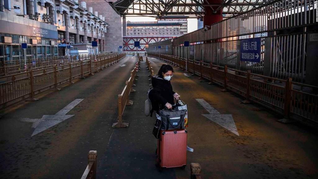 Coronavirus: ya limita a 780 millones de personas en China