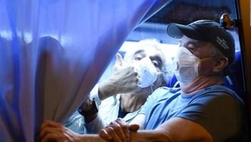Así evacuaron a 300 personas de un crucero con coronavirus