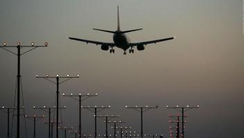 Casi un 80% menos de tráfico aéreo en China