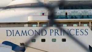 El desembarco de los pasajeros del Diamond Princess