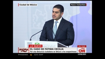 Autoridades: El móvil de la muerte de Fátima no fue el dinero