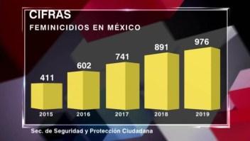 El feminicidio en México en cifras