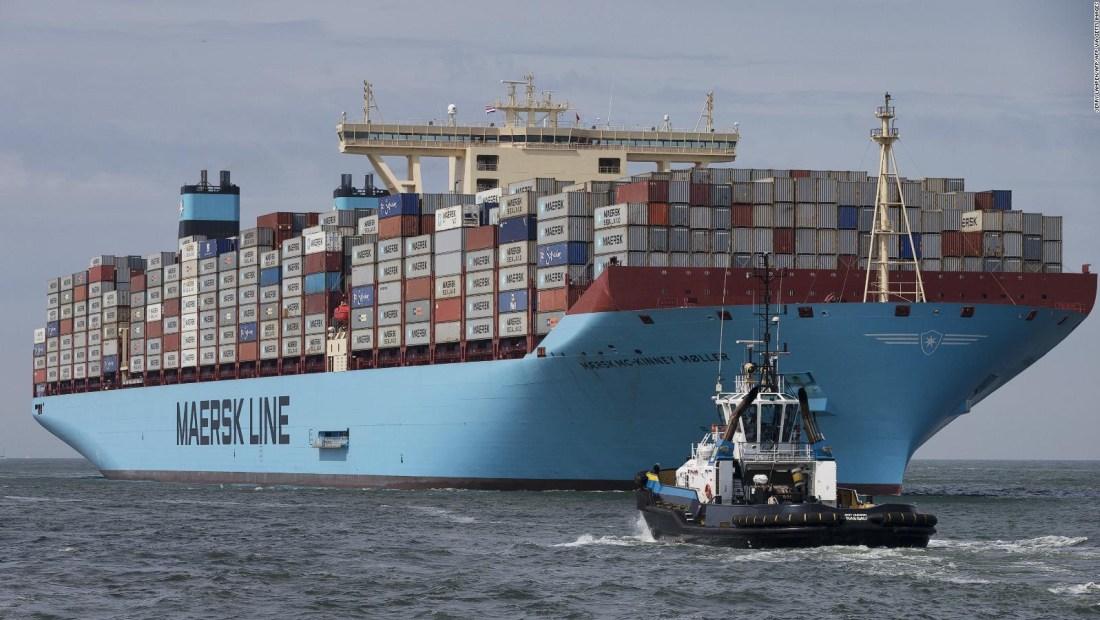 Maersk, muy afectada por el coronavirus