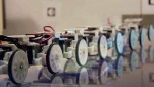 Serpiente robot ayudará en tareas de rescate