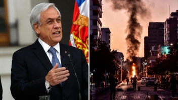 """Piñera: """"Llego el tiempo de un gran acuerdo contra la violencia"""""""