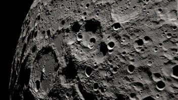 Así se ve la cara oculta de la Luna