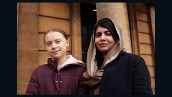 Greta Thurnberg conoció a Malala Yousafzai