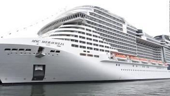 Crucero no logra desembarcar por temor al coronavirus
