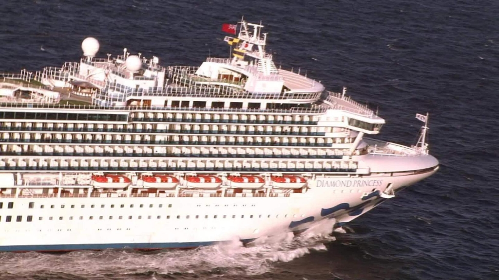 crucero coronavirus japon diamond princess