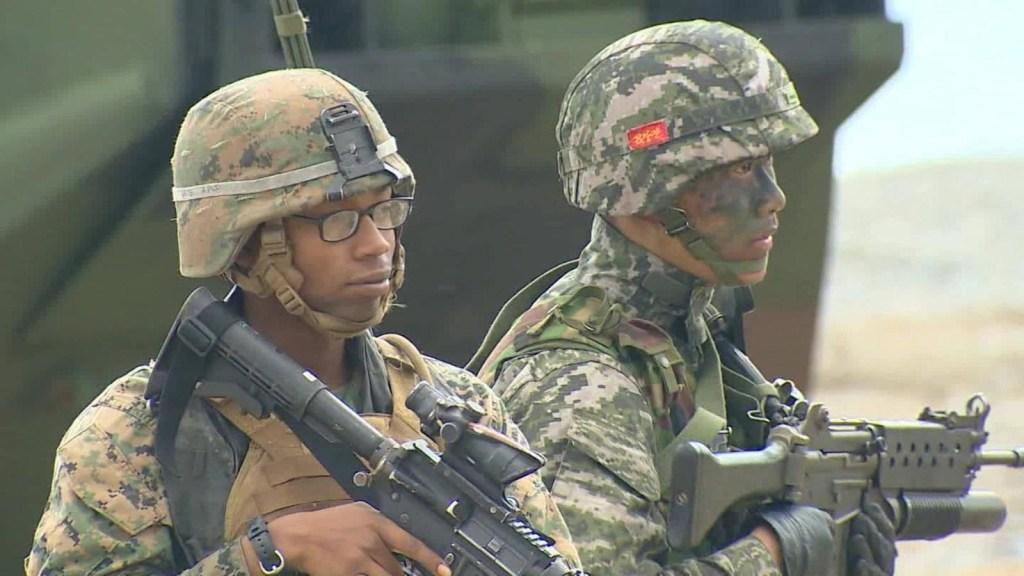 Detienen ejercicio militar de Corea del Sur y EE.UU. por coronavirus