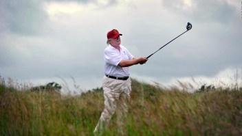 ¿Qué buscan en el golf personas como Longobardi y Trump?