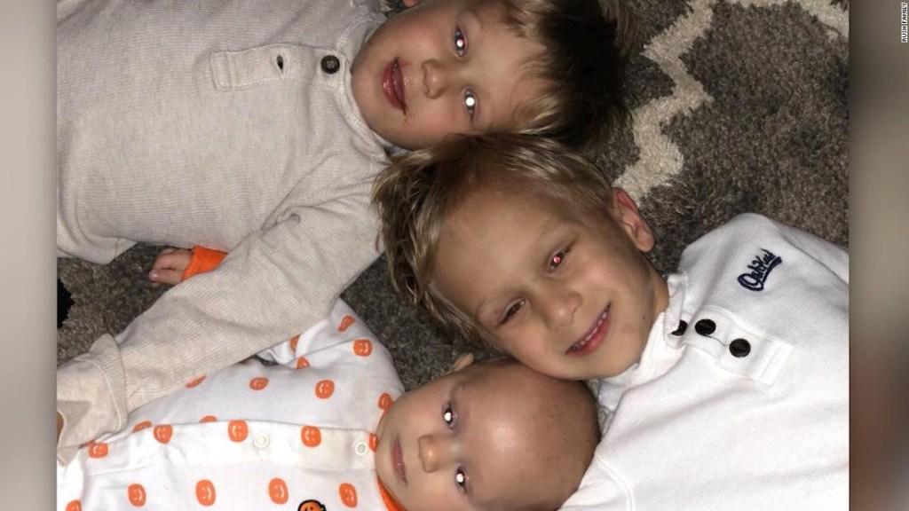 Tres hermanitos luchan contra el mismo cáncer infantil raro