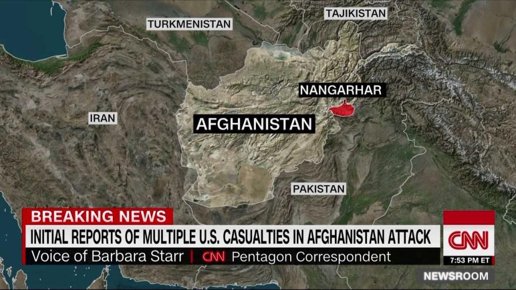 Atacan operación conjunta de EE.UU. y Afganistán