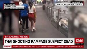 El testimonio de una persona que vivió el tiroteo en Tailandia