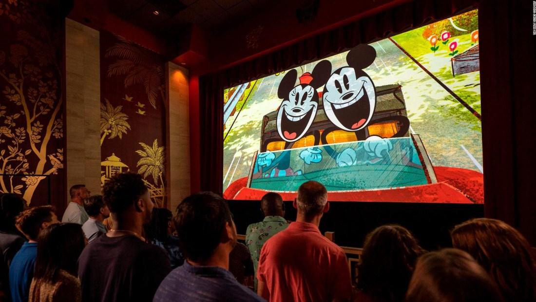 Así es la primera atracción protagonizada por Mickey Mouse