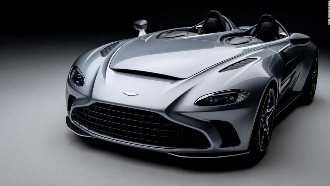 El nuevo Aston Martin no tiene techo ni parabrisas