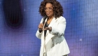 La caída de Oprah que se volvió viral