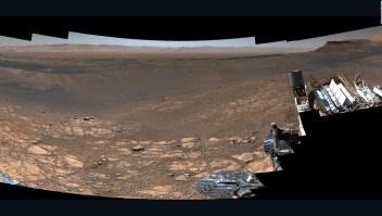 El explorador a Marte captura un panorama en alta resolución de su hogar