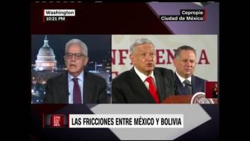 Jaime Aparicio critica a AMLO y a Alberto Fernández