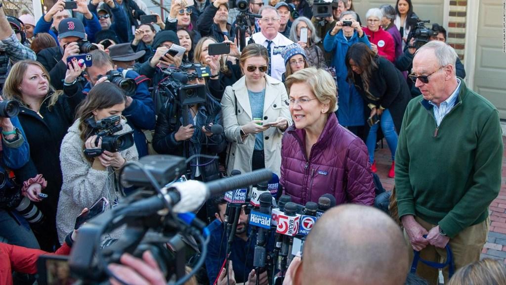 Warren agradeció a los que apoyaron su campaña