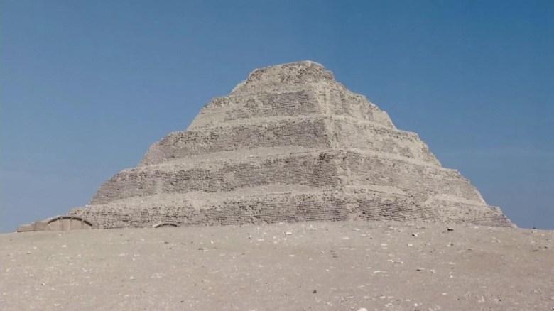 Egipto reabre la pirámide de Zoser