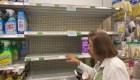 Compras de pánico arrasan estantes en Miami