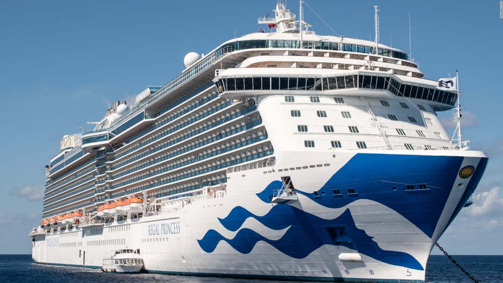 Pasajero del Grand Princess: Estamos presos