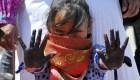 Miles de mujeres marchan en México contra el feminicidio