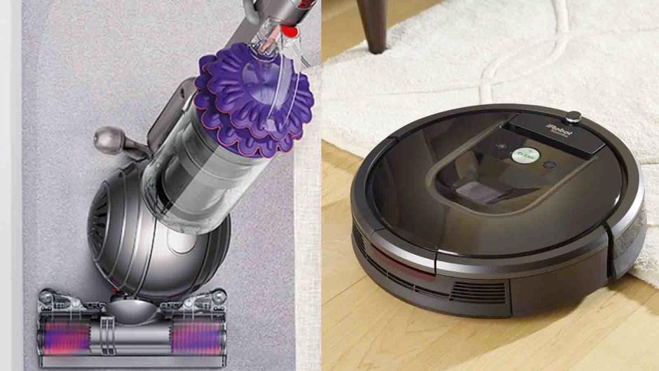 Roomba y Dyson