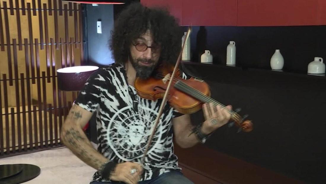 Malikian: Me siento agradecido de tocar en Latinoamérica